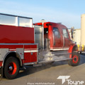 Rear Right Side View of a Toyne Pumper Tanker
