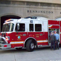 Left Side View of Bennington Fire Department's new Toyne Tailored Apparatus.