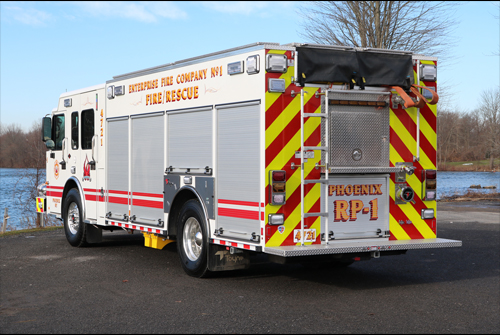 Priotity Response Vehicle - Enterprise Fire Company