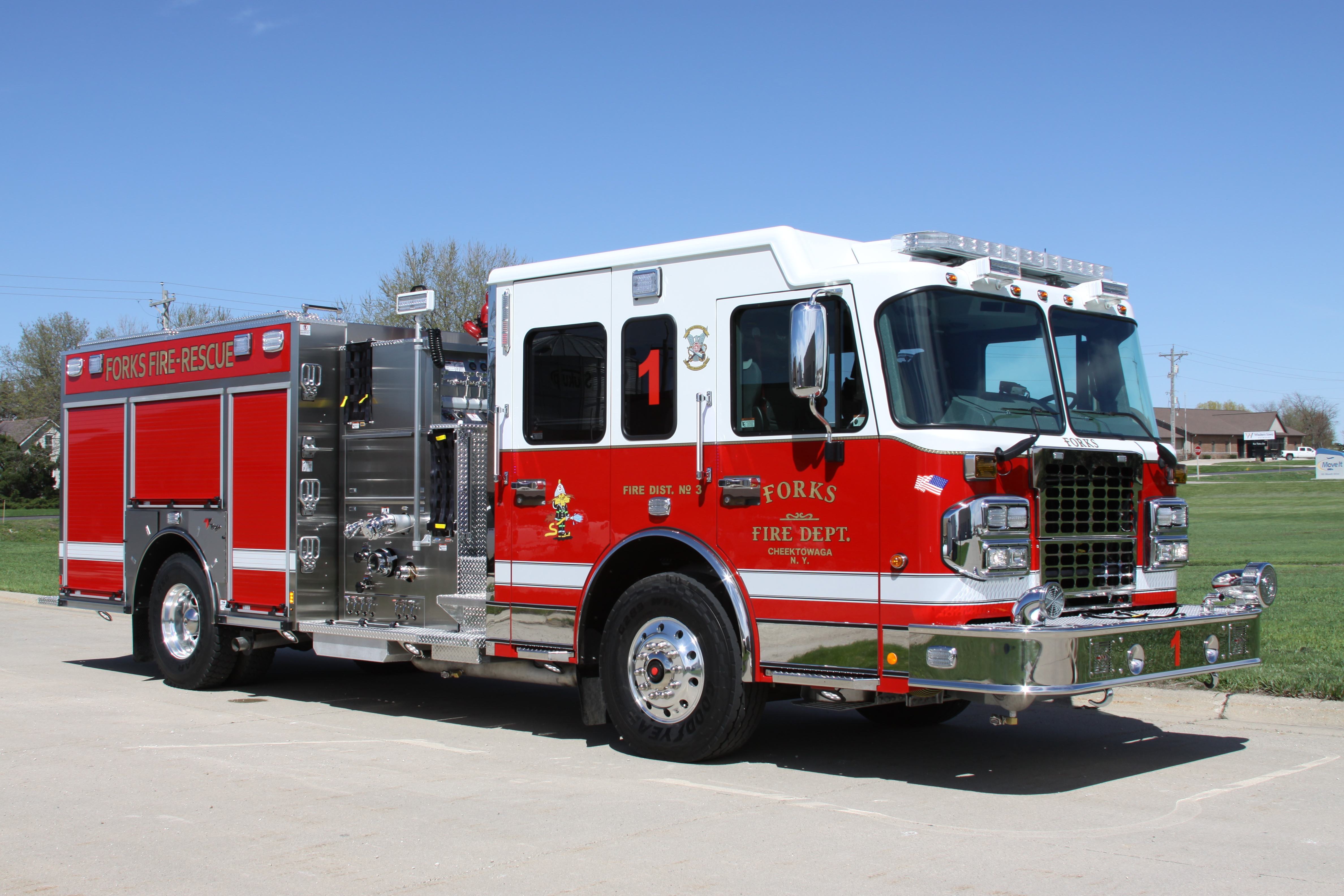 Forks Fire Department's New Toyne Pumper