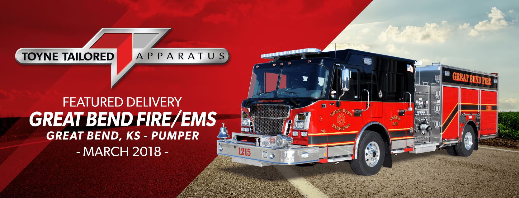 Featured Delivery Great Bend Fire/EMS<