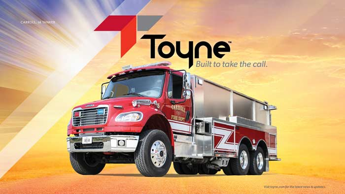 Toyne Branded Wallpaper Display