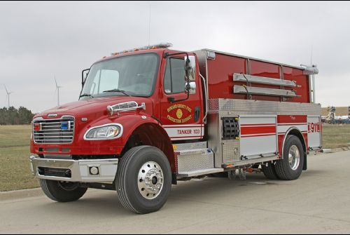 Howard Country Fire Production Pumper Tanker