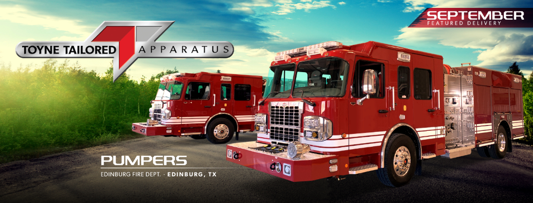 Pumper Tanker for Edinburg Fire Department