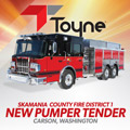 2015 Skamania County Fire District 1 - Pumper Tender - Carson Washington